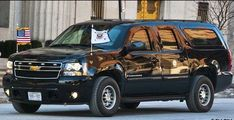 US Secret Service Armour Plate Suburban Chevy Vehicles, Police Vehicles, Protection Rapprochée, United States Secret Service, Black Armor, Flower Car, Special Ops, Auto Service, Emergency Vehicles