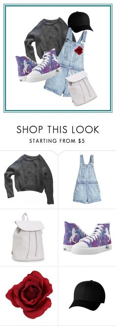The Dark Side of Spring by pandalover435 on Polyvore featuring American Apparel, Youth, Aéropostale and Flexfit
