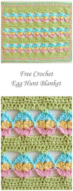 These 5 Free Crochet Baby Blanket Patterns each make a perfect gift for a new baby. Make one of these Crochet Baby Blanket patterns to ensure that you don& miss out on giving a gift that will be loved forever. Crochet Afghans, Crochet Baby Blanket Beginner, Crochet Stitches Patterns, Crochet Designs, All Free Crochet, Love Crochet, Crochet Yarn, Manta Crochet, Crochet Projects