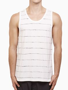 Printed scribble tank from S/S2016 T by Alexander Wang