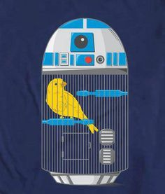 R2-D2 Bird Cage lol