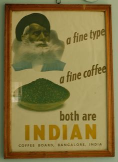 a fine type, a fine coffee - both are indian. Indian Coffee, Coffee Advertising, Down South, Coffee Drinks, Type, Sensory Overload, Bangalore India, Facebook Likes, Houses