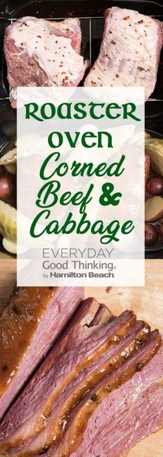 Roaster Oven Corned Beef & Cabbage