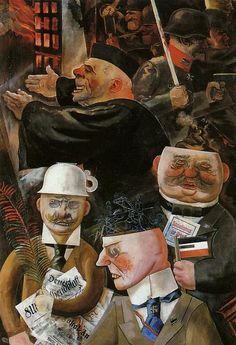 Los pilares de la sociedad, 1926. George Grosz