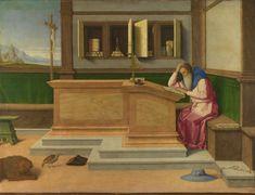 Vincenzo Catena Saint Jerome in his Study