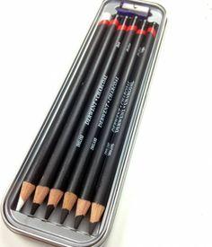 Derwent charcoal pencils. Juliette Crane. Favorite Art Supplies. http://juliettecrane.com