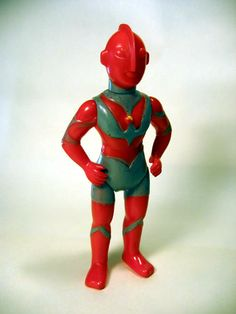 "Rare Bullmark ""Red"" Ultraman (designed for girls!!) From the Mark Nagata collection"