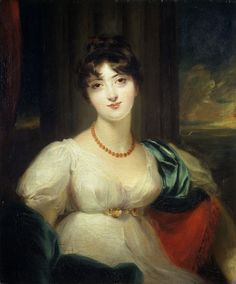 Paulina, Lady Carrington by Sir Thomas Lawrence (circa 1806) @Victoria Brown and Albert Museum