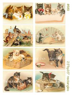 Digital Clipart instant download Vintage Cat by TheDigitalChick, $2.25  https://www.etsy.com/listing/106354283/digital-clipart-instant-download-vintage?ref=sr_gallery_11&ga_search_query=Cat+Clipart&ga_page=3&ga_search_type=all&ga_view_type=gallery
