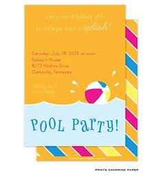 Are you ready for pool parties and the summer! Starting at $24 for 10