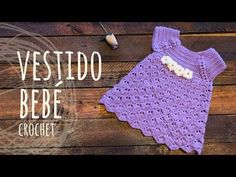 Tutorial Vestido Bebé Ganchillo | Crochet