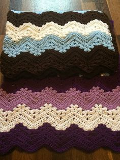 6-Day Kid Blanket – free pattern