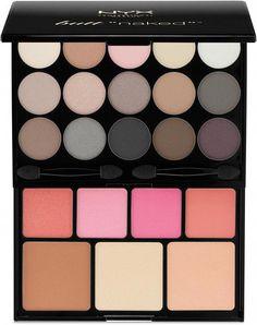 NYX Butt Naked Eyes Makeup Palette #BlusherMakeup Blusher Makeup, Blusher Tips, How To Apply Blusher, How To Apply Eyeliner, Beauty Makeup, Eye Makeup, Beauty Tips, Contour Makeup, Makeup Art