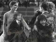 "l'art du cinéma on Twitter: ""Harry Potter cast through time… """