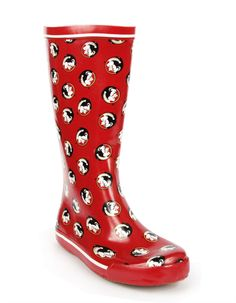 6520ffd93 Garnet Florida State Rain Boot by Show Your Pride  Collegiate Accessories on
