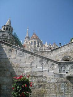 Budapest, Halaszbastya and Temple Mathias at the Castle Budai