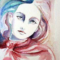 Portrety akwarelowe – MagdalenaRB maluje