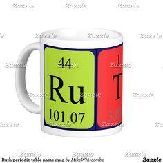 Lara periodic table name keyring single sided square acrylic key ruth periodic table name mug urtaz Gallery