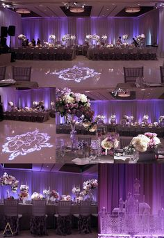 Purple wedding idea!