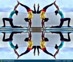 Check out the amazing Acro/Partner Yoga by Shifana Mufeed; yoga pose performed at male', Maldives on YogaTrail; the World's Yoga Network. Yoga For Two, Yoga Poses For Two, Partner Yoga, Workout Partner, Yoga Posses, Couples Yoga Poses, Advanced Yoga, Online Yoga, Yoga Photography