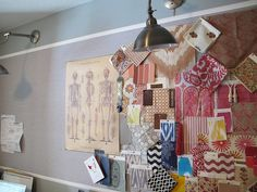 Corkboard walls in kids' bedrooms = no more tape, nail holes or pin holes.   It all goes on the board!