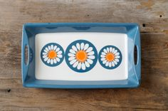 Vintage Figgjo Flint Turi Daisy Tray - Made in Norway Scandinavian Design, Country Living, Kitchenware, Norway, Daisy, At Least, Etsy Seller, Porcelain, Pottery