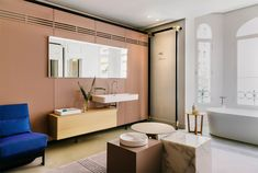 LAUFEN bathrooms' new madrid showroom designed by patricia urquiola