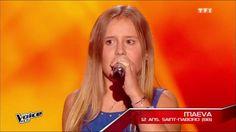 The Voice Kids 2015 | Maeva - Je viens du sud (Michel Sardou) | Blind Au...