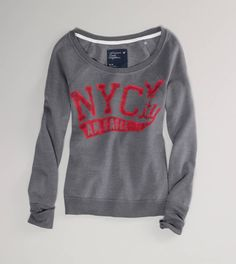 AE NYC Fleece Popover!!! totally getting this:)