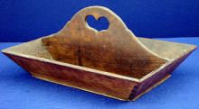 knife tray with heart handle