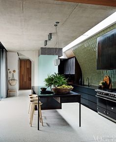 An elegant residence in Melbourne included in the September/October section - The New Look - Vogue Living 9/2013
