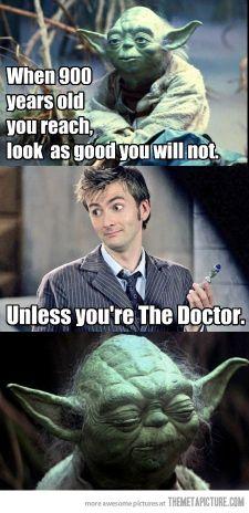 Dr. Who vs Yoda