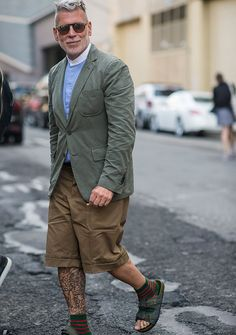 The Best Off-the-Runway Style From New York Fashion Week: Men's: Street Style