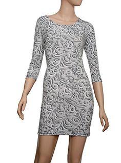 Majeclo Women's Scoop Skirts Dinner Jacquard Dress (P037_... http://a.co/f6Woar7