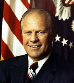 Gerald Rudolph Ford ~ 38th President of the United States of America, August 9, 1974 - January 20, 1977