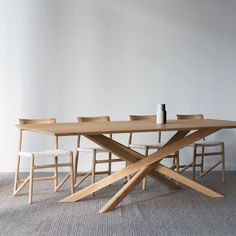 Contemporary Home Furniture in Australia- Contemporary Home Furniture in Australia Ethnicraft Oak Mikado Dining Table - Dining Table With Storage, Dining Table Legs, Extension Dining Table, Extendable Dining Table, Modern Table Legs, Pine Table, Oak Table, Table Teck, Contemporary Home Furniture