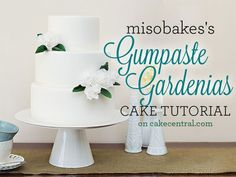 Wondering how the talented cakemakers featured in Vol. 4, Issue 7 of Cake Central Magazine created those breathtaking gumpaste gardenias?...