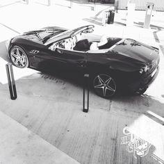 Ferrari Calofornia convertible Barcelona Spain