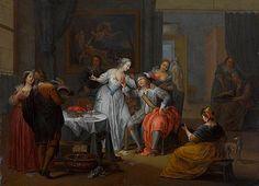 "Franz Christoph Janneck (1703 -1761) - ""Der verlorene Sohn unter den Dirnen "" ... robbig.artsolution.net400 × 289Buscar por imagen - ""Der verlorene Sohn unter den Dirnen "" Johann Peter Hasenclever - Buscar con Google"