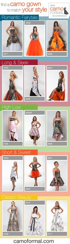 Camo Prom Dresses for Prom 2015 - Find the perfect dress in your style!