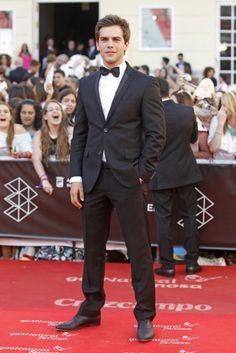 Marc Clotet Esmoquin Festival de Málaga - in tuxedo,looking his best for this formal event..