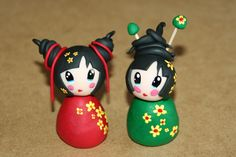 Tutoriel : Comment faire une Kokeshi en Fimo - Le blog de Miss Kawaii