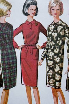 McCalls 6948  Vintage 60s Sewing Pattern  1960s by mituvintage
