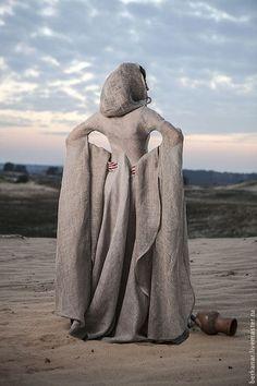 """Платья ручной работы. Средневековое платье в стиле фентези """"Странница"""". Berkanar Studio. Ярмарка Мастеров. Татуин, платье"""