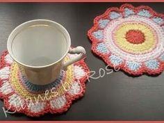 Posa vasos primaveral #crochet #ganchillo #bonito  #hogar #handmade  #hecho a mano  #Tarragona #Barcelona #kllanes #decoración #crochetmotif #crocheting #crochetersofnstagram #instacrochet #happycrochet  #haken #hekle  #tejeresmisuperpoder by kllanescraft
