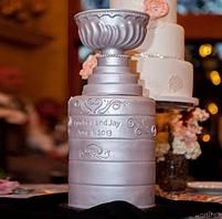 Stanley Cup Wedding Cake On Wedding Cakes With The Stanley Cup ...