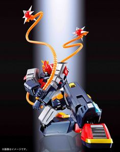 Bandai Choudenji Machine Voltes V F.: Tamashii Nations Soul of Chogokin Die-Cast Action Figure - Toys Most Advanced Robot, Super Robot Taisen, Japanese Robot, Metal Robot, Vintage Robots, Robot Art, Comic Character, Diecast, Action Figures