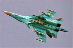 Aviones Caza y de Ataque: Su-32/34 Fullback