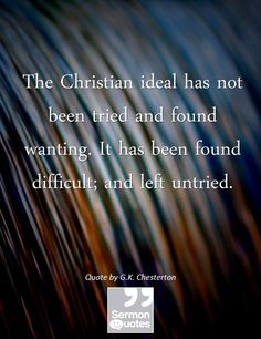 The Christian Ideal