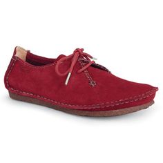 97a8a27beb3 Clarks Of England Faraway Field Leather Shoes - imported  99 but love the  red